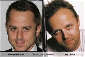 Giovanni Ribisi Totally Looks Like Lars Ulrich