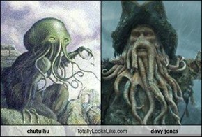 chutulhu Totally Looks Like davy jones