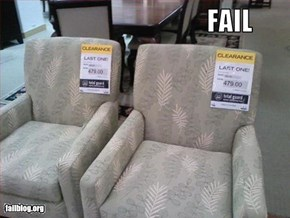 Furniture Sale Fail