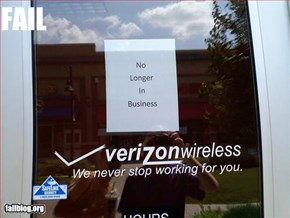 Verizon fail