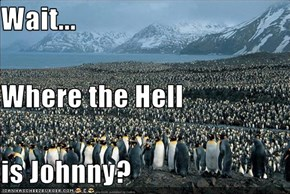 Wait... Where the Hell is Johnny?