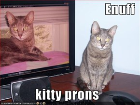Enuff  kitty prons