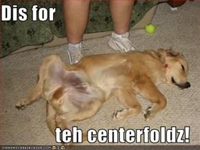 Dis for  teh centerfoldz!