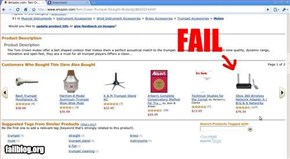 Amazon Also Bought Fail