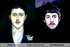 Marcel Proust Totally Looks Like Paul McCartney