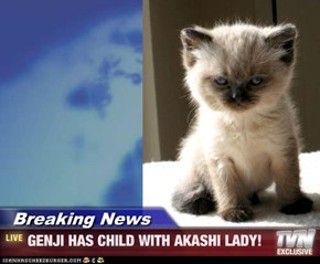 Breaking News - GENJI HAS CHILD WITH AKASHI LADY!