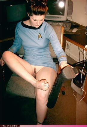 Best ST:TOS Costume EVER!