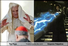 The Pope Totally Looks Like Emperor Palpatine