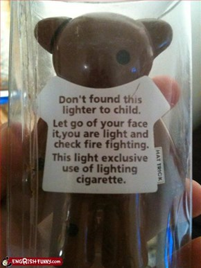 Don't Found This Lighter To Child!