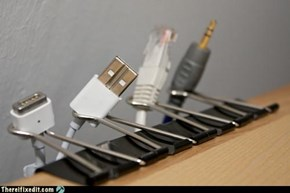 Tabajara Plus, cable organizer