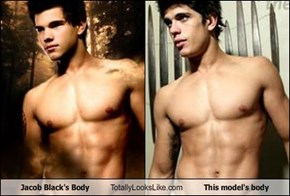 Jacob Black's Body Totally Looks Like This model's body