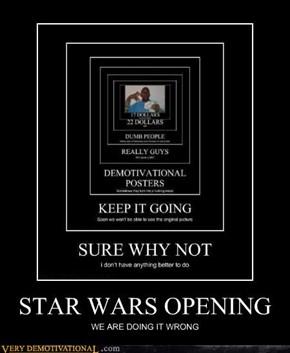 Reminds Me of Star Wars: Episode I