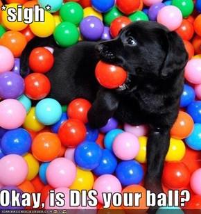 *sigh*  Okay, is DIS your ball?