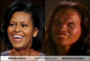 Michelle Obama Totally Looks Like Buffyverse Vampire
