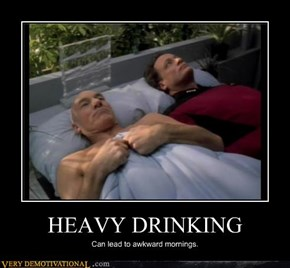 Picard Is a Drunk