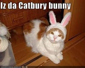 Iz da Catbury bunny
