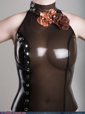 This Chocolate Leather Erases Your Nipples