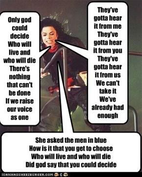 some lyrics to We've Had Enough
