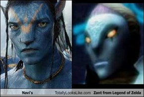 Navi's Totally Looks Like Zant from Legend of Zelda