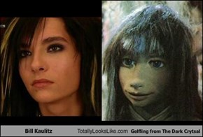 Bill Kaulitz Totally Looks Like Gelfling from The Dark Crytsal
