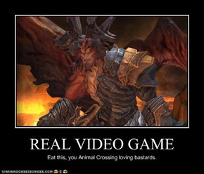 REAL VIDEO GAME