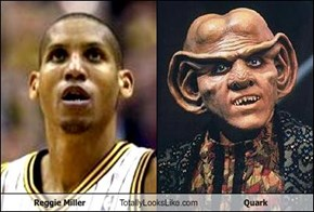 Reggie Miller Totally Looks Like Quark