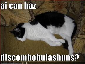 ai can haz  discombobulashuns?