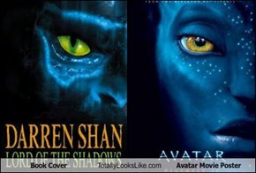 Book Cover Totally Looks Like Avatar Movie Poster