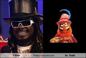 T-Pain Totally Looks Like Dr. Teeth