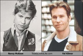 Nancy McKeon Totally Looks Like Val Kilmer