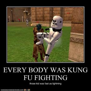 EVERY BODY WAS KUNG FU FIGHTING