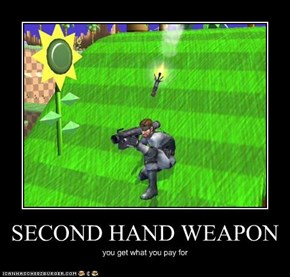 SECOND HAND WEAPON