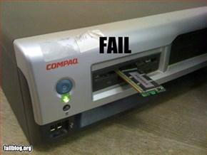 RAM slot fail