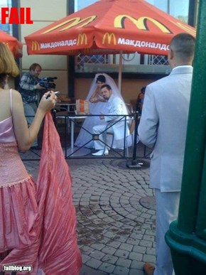 Wedding Reception Fail