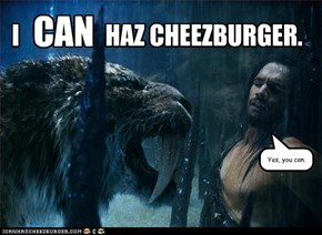 One Cheezeburger, Please!