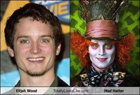 Elijah Wood Totally Looks Like Mad Hatter
