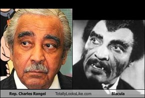 Rep. Charles Rangel Totally Looks Like Blacula