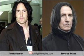 Trent Reznor Totally Looks Like Severus Snape