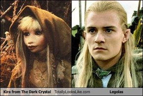 Kira from The Dark Crystal Totally Looks Like Legolas