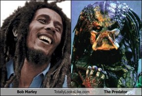 Bob Marley Totally Looks Like The Predator