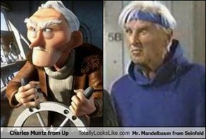 Charles Muntz from Up Totally Looks Like Mr. Mandelbaum from Seinfeld