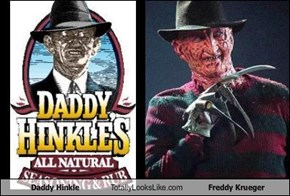 Daddy Hinkle Totally Looks Like Freddy Krueger