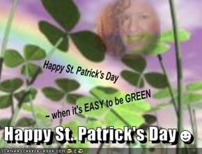 Happy St. Patrick's Day☻