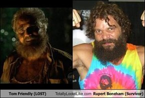Tom Friendly (LOST) Totally Looks Like Rupert Boneham (Survivor)