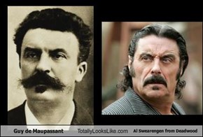 Guy de Maupassant Totally Looks Like Al Swearengen from Deadwood