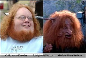 Critic Harry Knowles Totally Looks Like Gwildor From He-Man