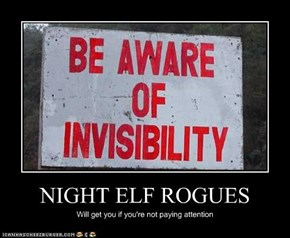 NIGHT ELF ROGUES