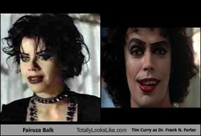 Fairuza Balk Totally Looks Like Tim Curry as Dr. Frank N. Furter