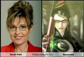 Sarah Palin Totally Looks Like Bayonetta