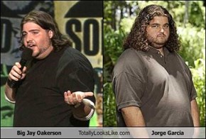 Big Jay Oakerson Totally Looks Like Jorge Garcia